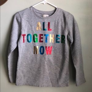 All together now sweatshirt